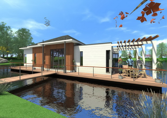 7 modern floating house plans (1)