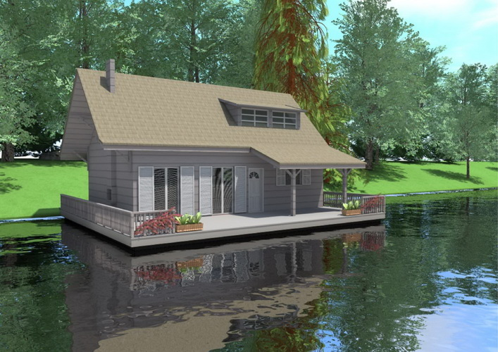 7 modern floating house plans (13)