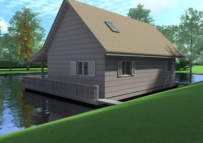 7 modern floating house plans (14)