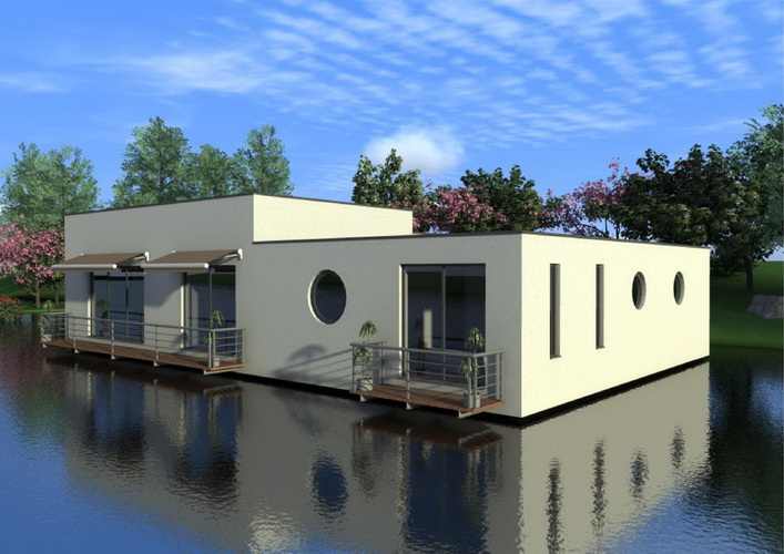 7 modern floating house plans (15)