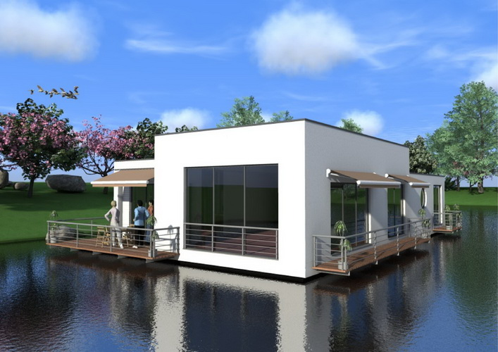 7 modern floating house plans (17)