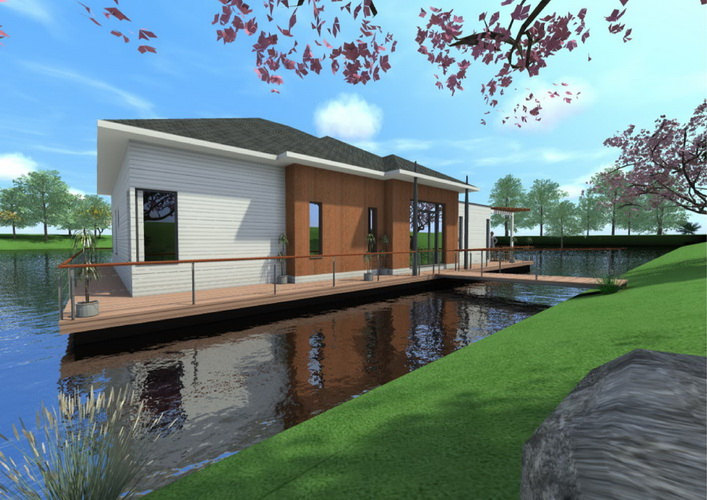 7 modern floating house plans (2)