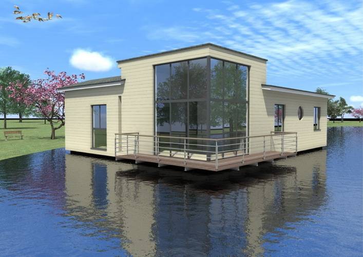 7 modern floating house plans (20)