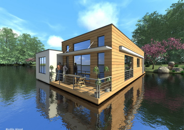 7 modern floating house plans (24)