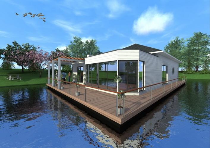 7 modern floating house plans (4)