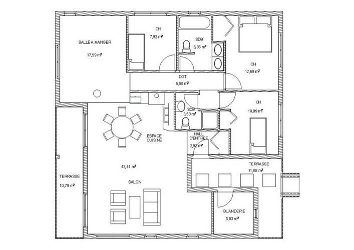 7 modern floating house plans (8)