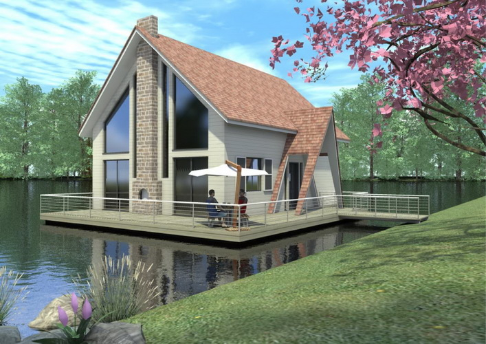 7 modern floating house plans (9)