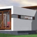 ไอเดียแบบบ้านขนาดชั้นเดียวสไตล์โมเดิร์น ออกแบบในรูปทรงที่ทันสมัย