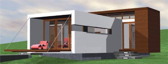 Prefab modern 1floor house (1)