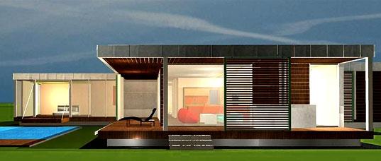 Prefab modern 1floor house (10)