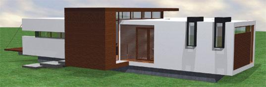 Prefab modern 1floor house (2)