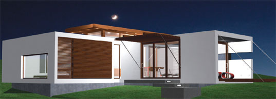 Prefab modern 1floor house (4)
