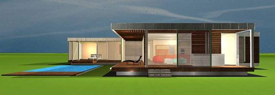 Prefab modern 1floor house (5)