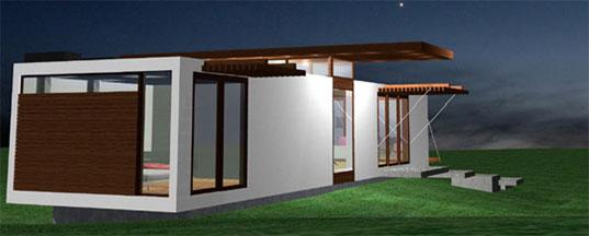 Prefab modern 1floor house (7)