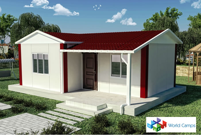 Single Storey Prefabricated Houses (1)