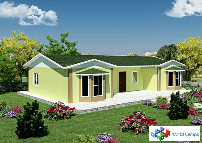 Single Storey Prefabricated Houses (13)