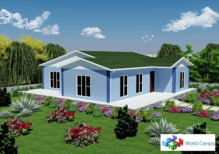 Single Storey Prefabricated Houses (15)