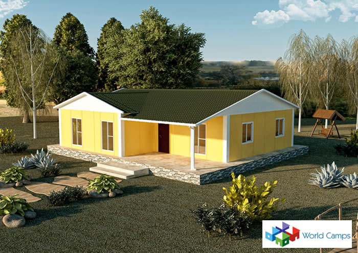 Single Storey Prefabricated Houses (16)