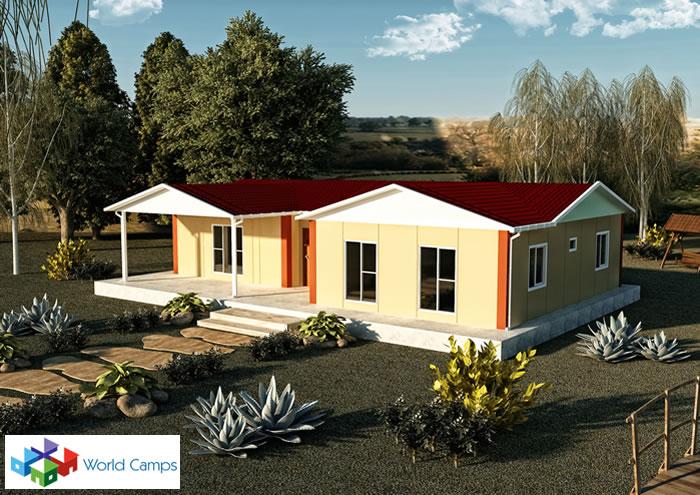 Single Storey Prefabricated Houses (19)