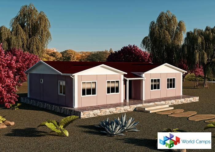 Single Storey Prefabricated Houses (20)