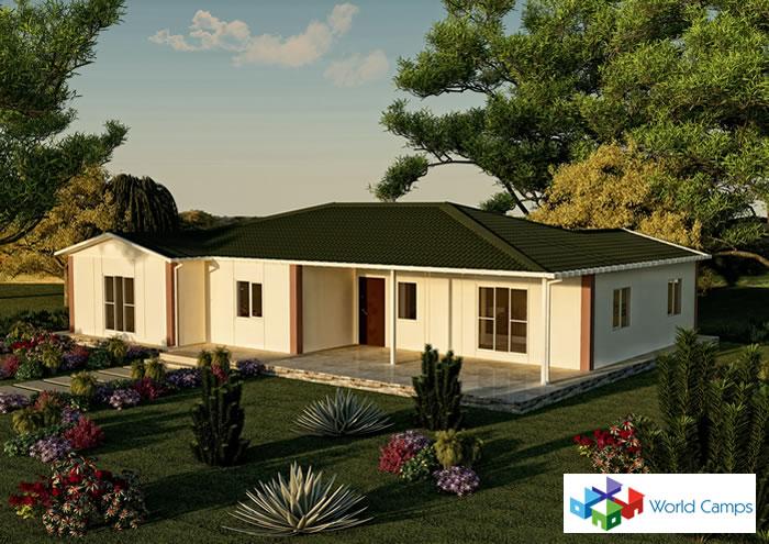 Single Storey Prefabricated Houses (22)