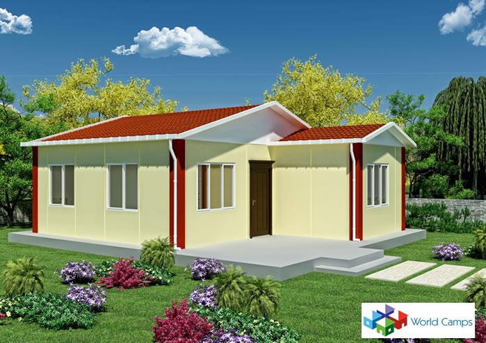 Single Storey Prefabricated Houses (3)