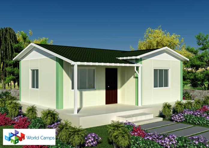 Single Storey Prefabricated Houses (4)