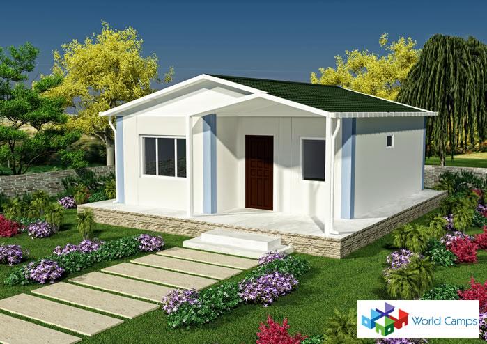 Single Storey Prefabricated Houses (5)