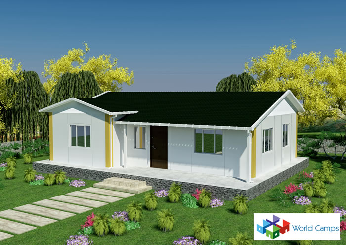 Single Storey Prefabricated Houses (6)