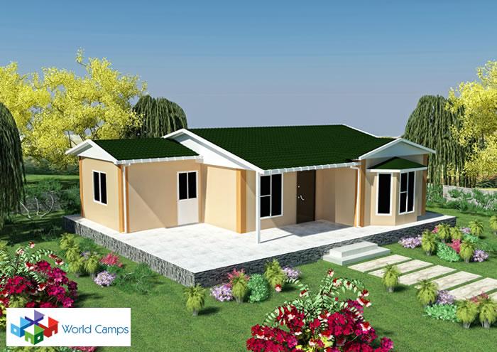 Single Storey Prefabricated Houses (7)