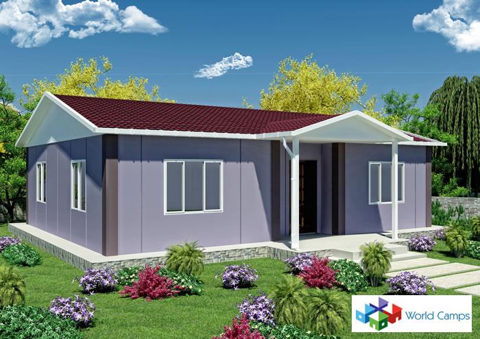 Single Storey Prefabricated Houses (9)