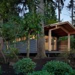 โรงเรียนสอนโยคะกลางป่า ความทันสมัยภายในตัวบ้านไม้ทรงดั้งเดิม