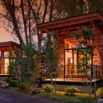 บ้านพักกลางภูเขา รูปทรงคอทเทจ ท่ามกลางบรรยากาศธรรมชาติ