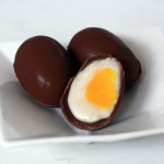 เมนูขนมหวาน : ไข่ชุบครีมช็อคโกแลตแสนอร่อย