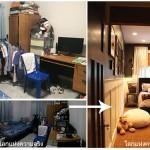 'CLEAN & CLEAR' แนวทางรีโนเวท จากห้องนอนรกๆ สู่ห้องนอนแห่งความฝัน!!