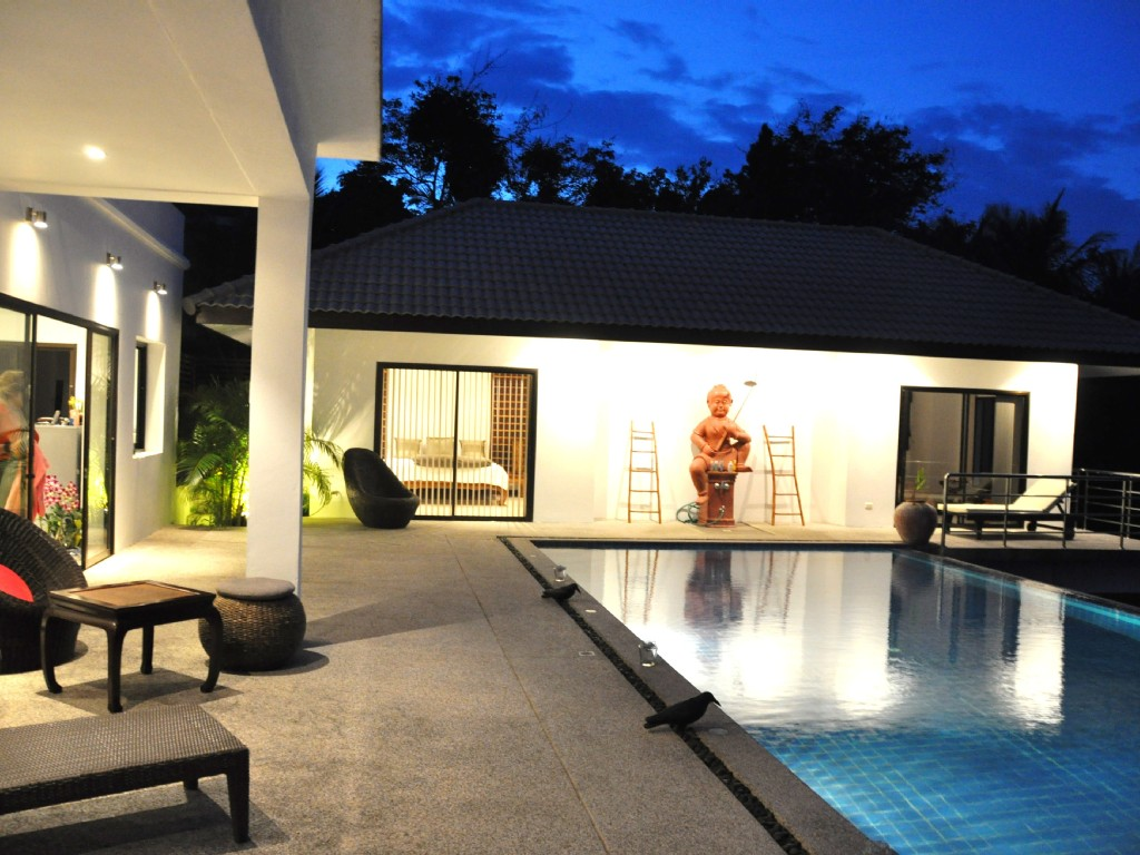 contemporary villa with swimming pool (8)