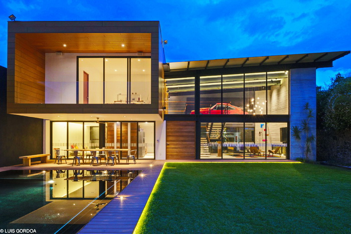 cozy modern house with swimming pool (2)