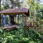 บ้านสไตล์โมเดิร์นล้ำสมัยแบบแยกส่วน ที่สุดของอิสระการใช้ชีวิตใกล้ชิดธรรมชาติ