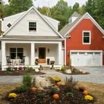 บ้านคอทเทจแฝด ความแตกต่างของสีสันที่ลงตัว พร้อมภายในสไตล์คลาสสิค