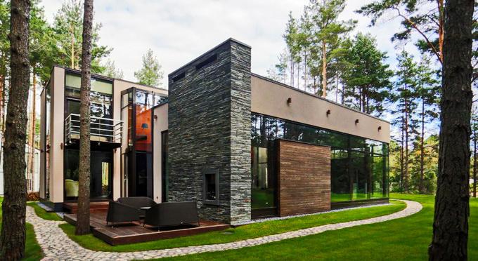 extreme elegant modern house (1)