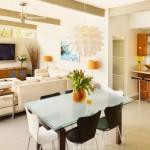 """3 เทคนิค จัดสรรพื้นที่ """"บ้านแบบห้องรวม"""" ให้ดูอบอุ่นโล่งสบาย พร้อมแบบแปลนตัวอย่าง"""