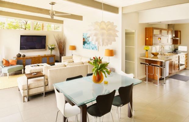 how to decorate open floor house (1)