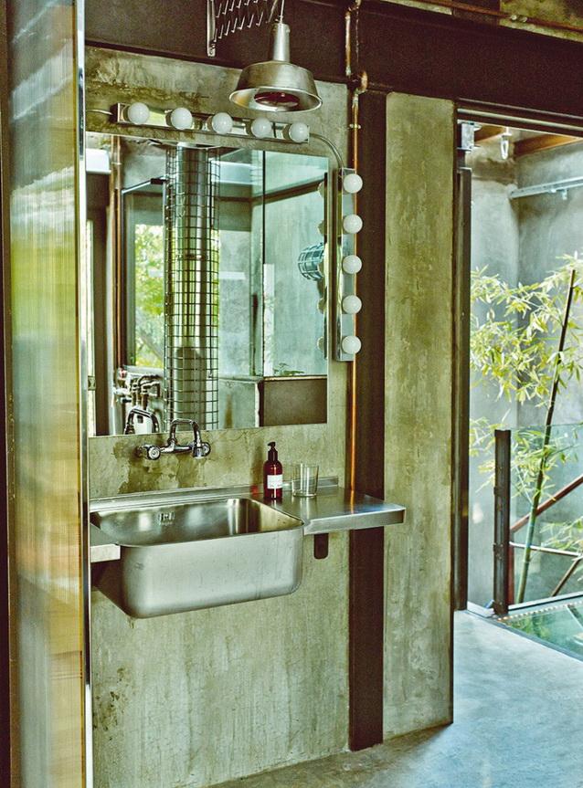 industrial vintage house interior design (7)