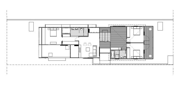 modern brown street house (15)