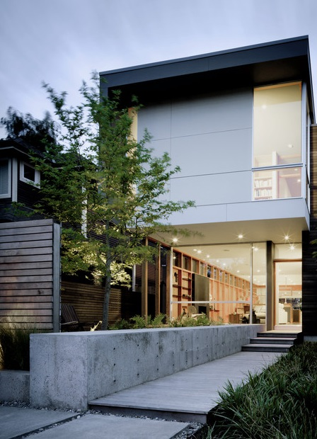 modern house with private garden (2)