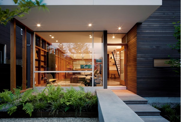 modern house with private garden (3)