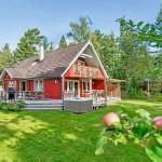 แบบบ้านกระท่อมไม้แนวร่วมสมัย มาพร้อมกับบรรยากาศสดใสสบายๆ