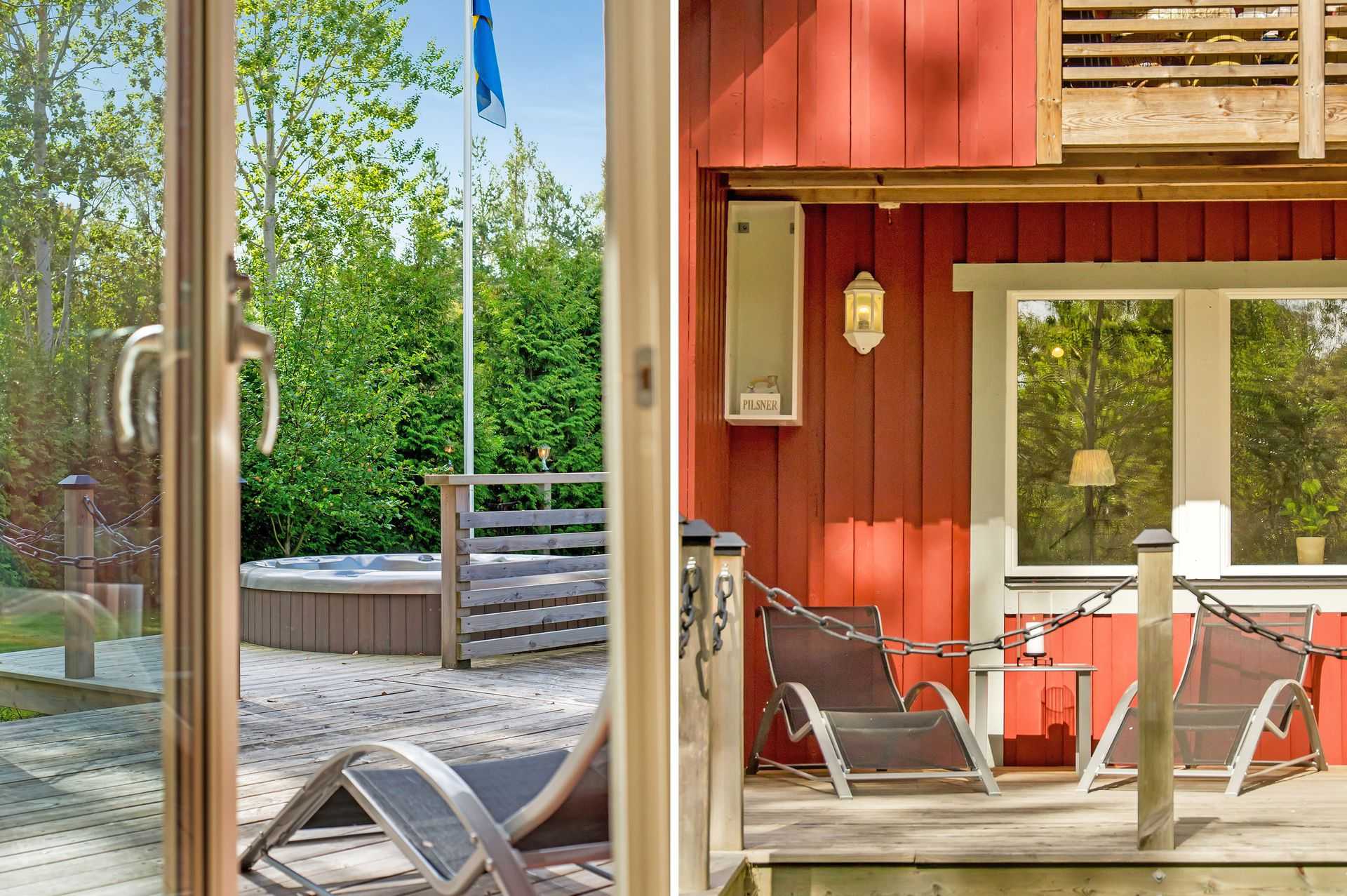 red cottage with relaxing atmosphere (3)