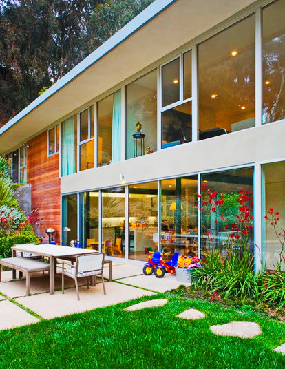 relaxing  modern concrete villa residence (2)