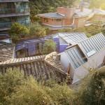 รีโนเวทบ้านเกาหลีดั้งเดิม เสริมความทันสมัยลงไปแบบดิบๆ